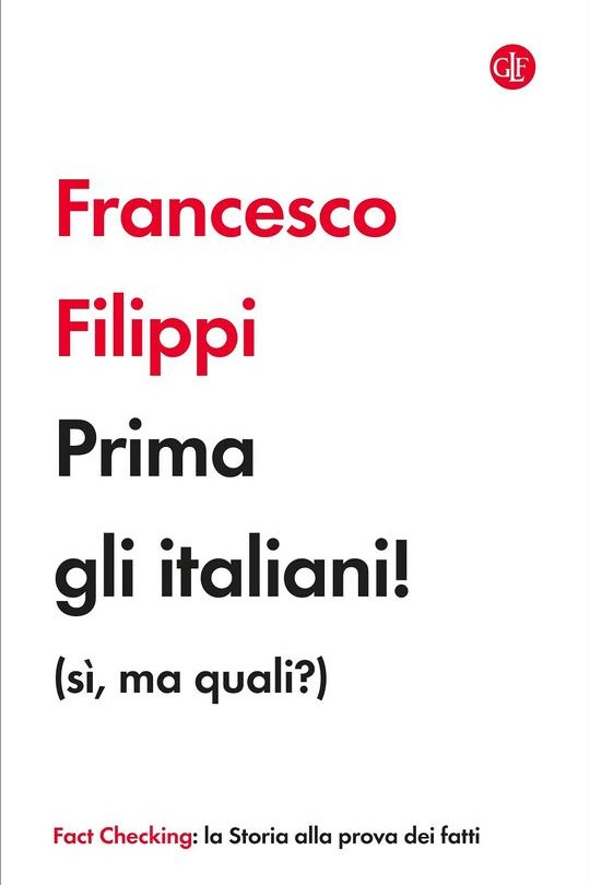 PRIMA GLI ITALIANI! (SÌ, MA QUALI?) - FRANCESCO FILIPPI